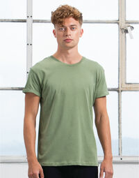 photo of Mantis Mens Roll Sleeve Tee - M80