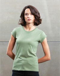 photo of Mantis Womens Roll Sleeve Tee - M81