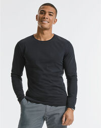 photo of Russell Mens Pure Organic L/S Tee - R100M