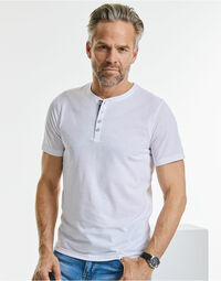 photo of Russell HD Henley Tee - R168M