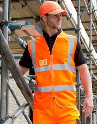 photo of Result Safe-Guard Zip Safety Tabard - R202X