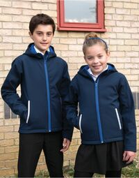 photo of Result Core Junior Hooded Softshell... - R224JY