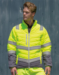 photo of Result Safeguard Mens Safety Jacket - R325M