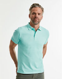 photo of Russell Mens Pure Organic Polo - R508M
