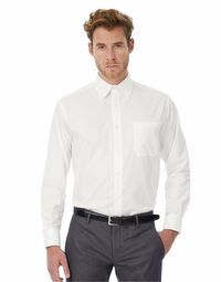photo of Men's Oxford Long Sleeve Shirt - SMO01