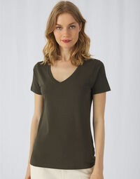 photo of B&C Womens Inspire Vee Tee - TW045