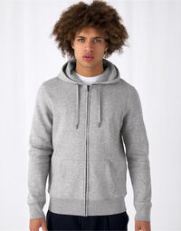 photo of B&C Mens King Zipped Hooded Sweat - WU03K