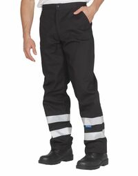 photo of Reflective Working Trousers (Regula... - YK015TR